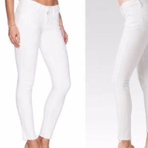 Paige Verdugo ankle jean in white